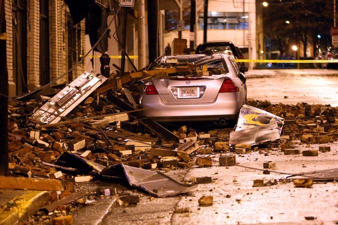 Торнадо в Атланте (30 фото)