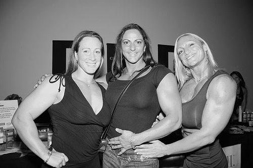 Сильные девушки (30 фото)