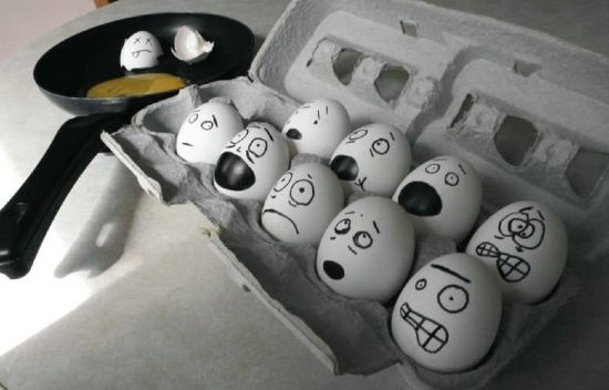 Креатив с яйцами (15 фото)