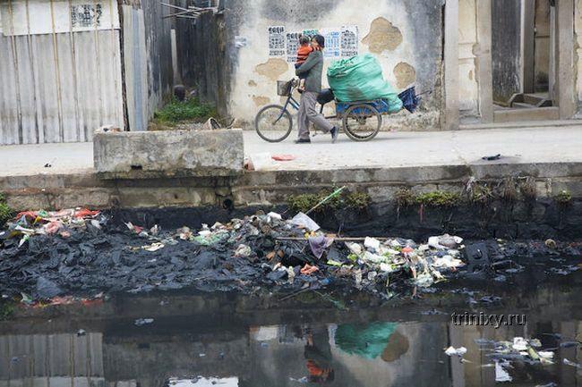 Китайский город по переработке электро-отходов (25 фото)