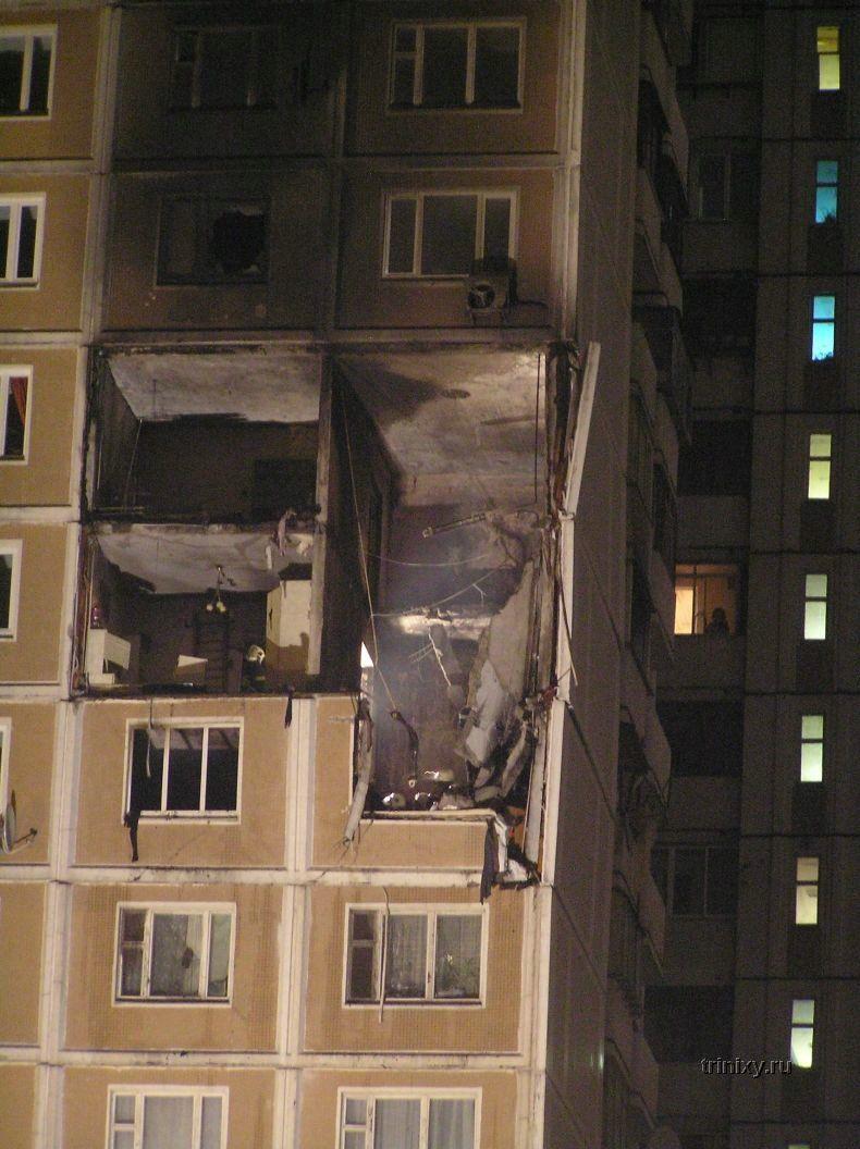 Пятничный взрыв в Москве (18 фото)