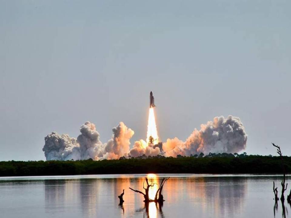 Классные фотографии. Запуск Шаттла (47 фото)