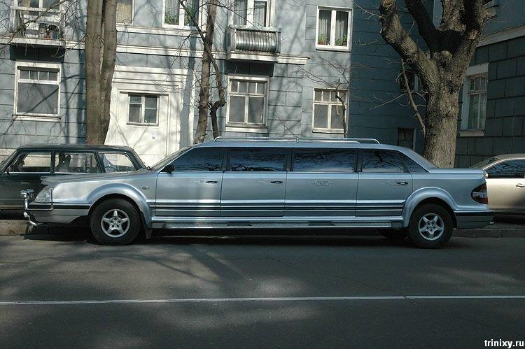 БIЛ 2005 - первый самодельный украинский лимузин (7 фото)
