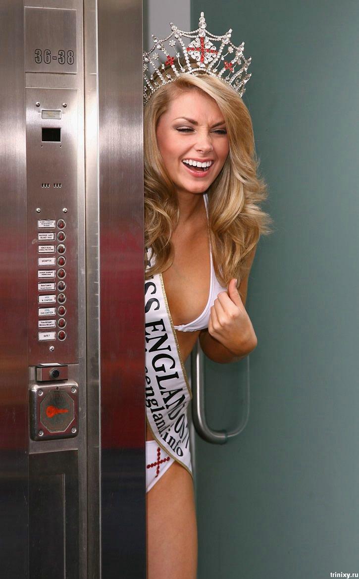 """Хлои Маршалл (Chloe Marshall) - необычная претендентка на звание """"Мисс Англия"""" (12 фото)"""