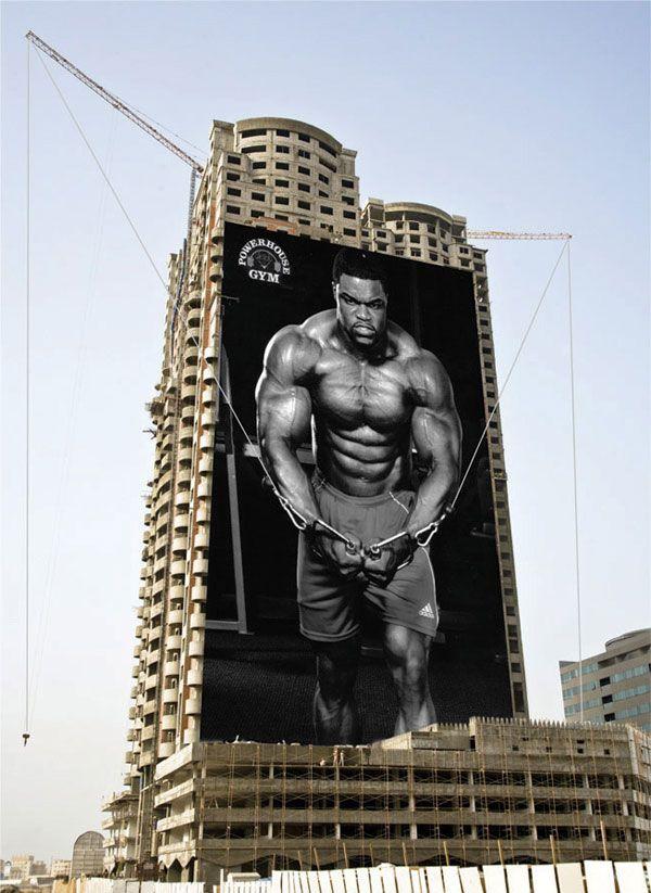 Реклама фитнес центра (3 принта)