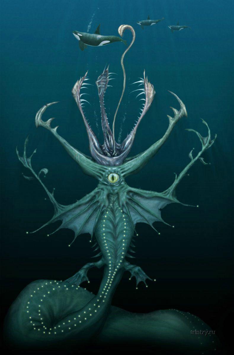 Подводные монстры (27 картинок)