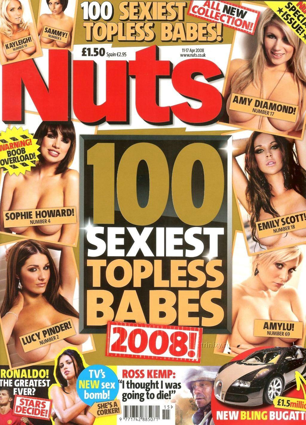 100 самых секуальных топлесс девушек (19 сканов) НЮ