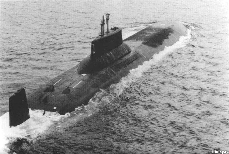 Подводные лодки проекта 941 «Акула» (37 фото)