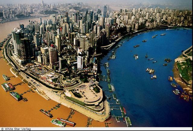 Очень красивые снимки Китая с высоты птичьего полета (10 фото)