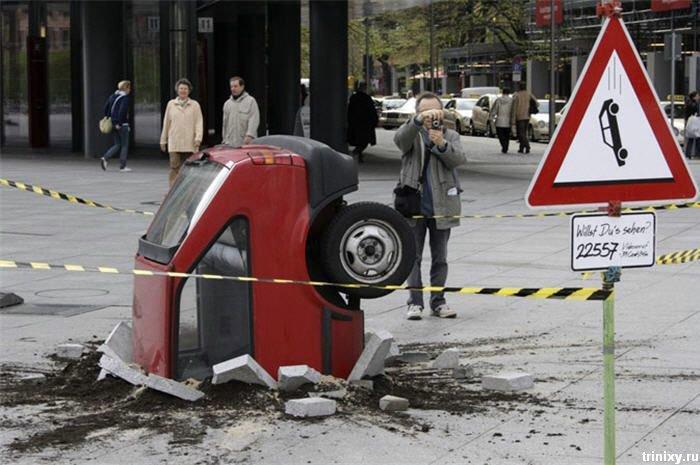 Классная реклама в Берлине (4 фото)