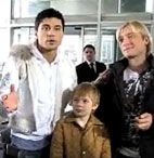 Чем занимается Билан с Плющенко?