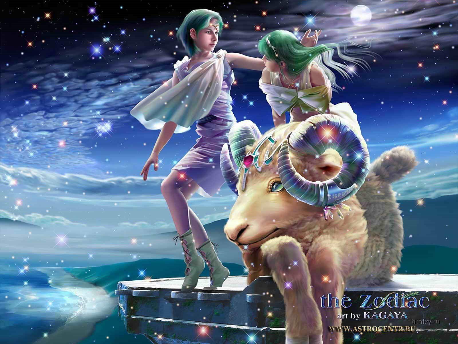 Потрясающе красивые знаки Зодиака (12 картинок)