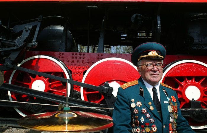 Красота русского паровоза (30 фото)