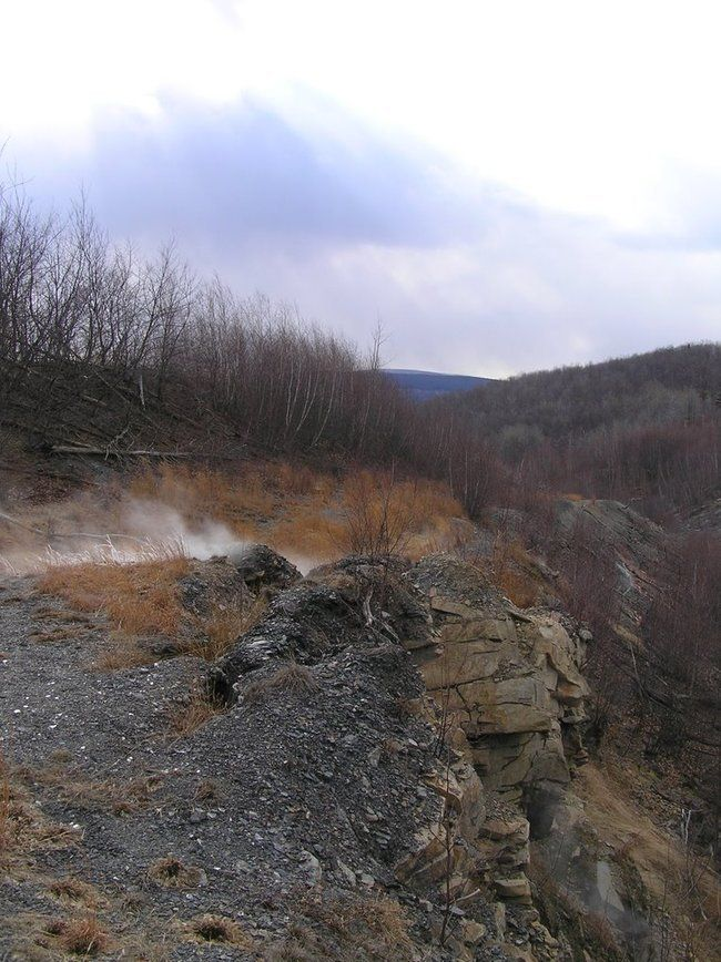 Город-призрак Централия в Пенсильвании (44 фото)