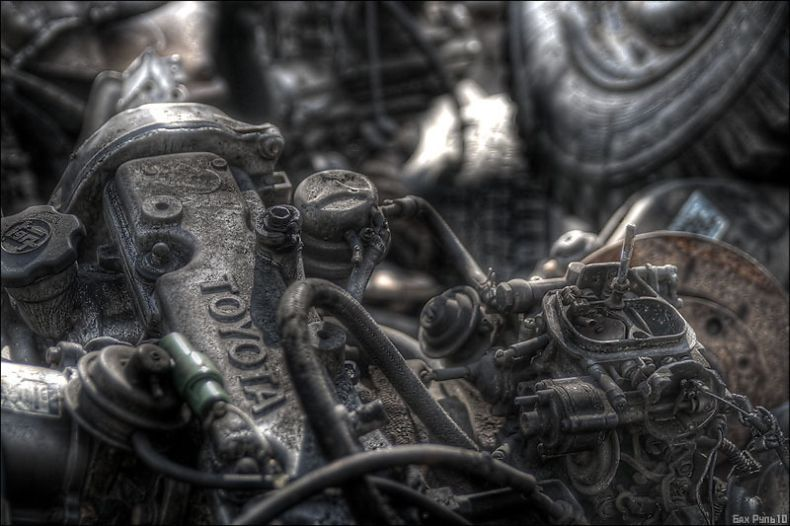 Джанктаун - город, который построен из мусора (14 фото)
