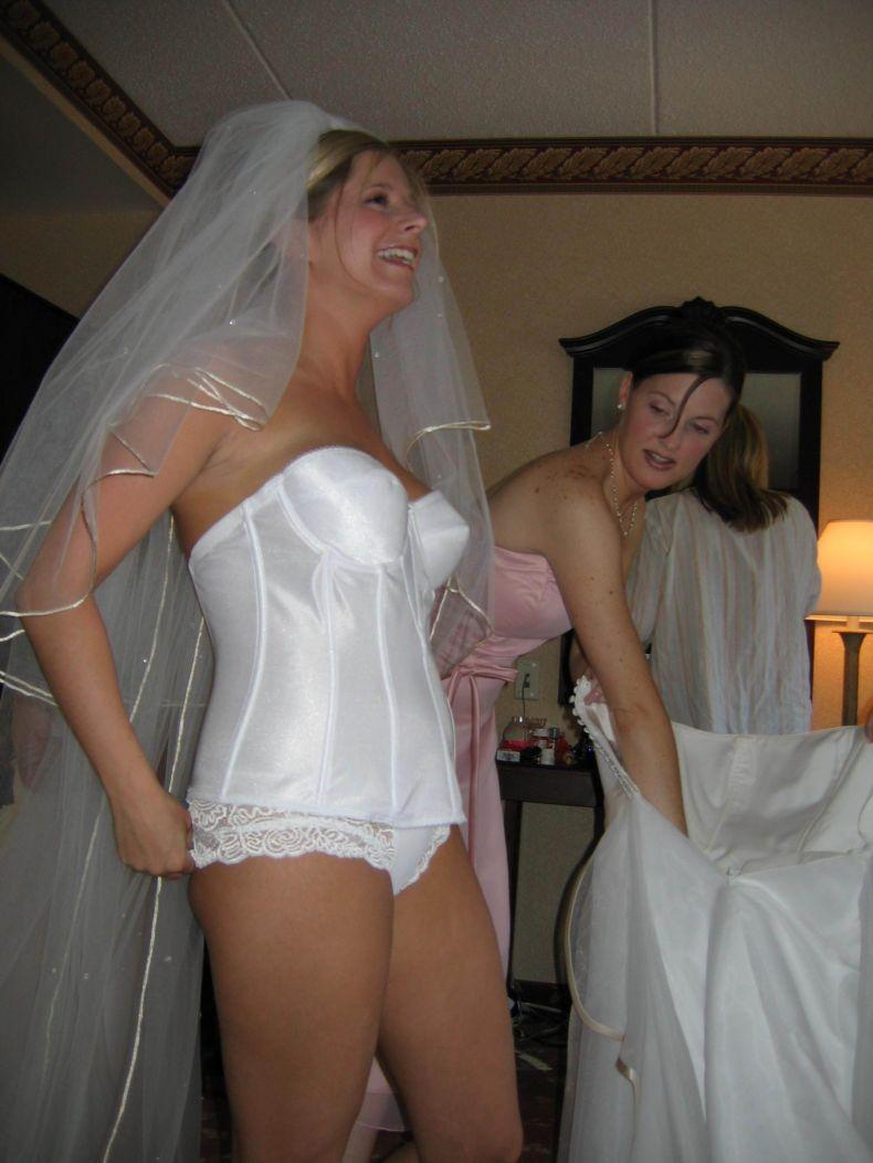 Трусы на свадьбе у невесты 22 фотография