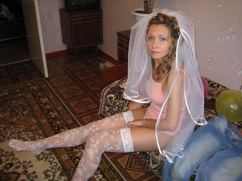 Пикантные фотогрфии невест (35 штук)