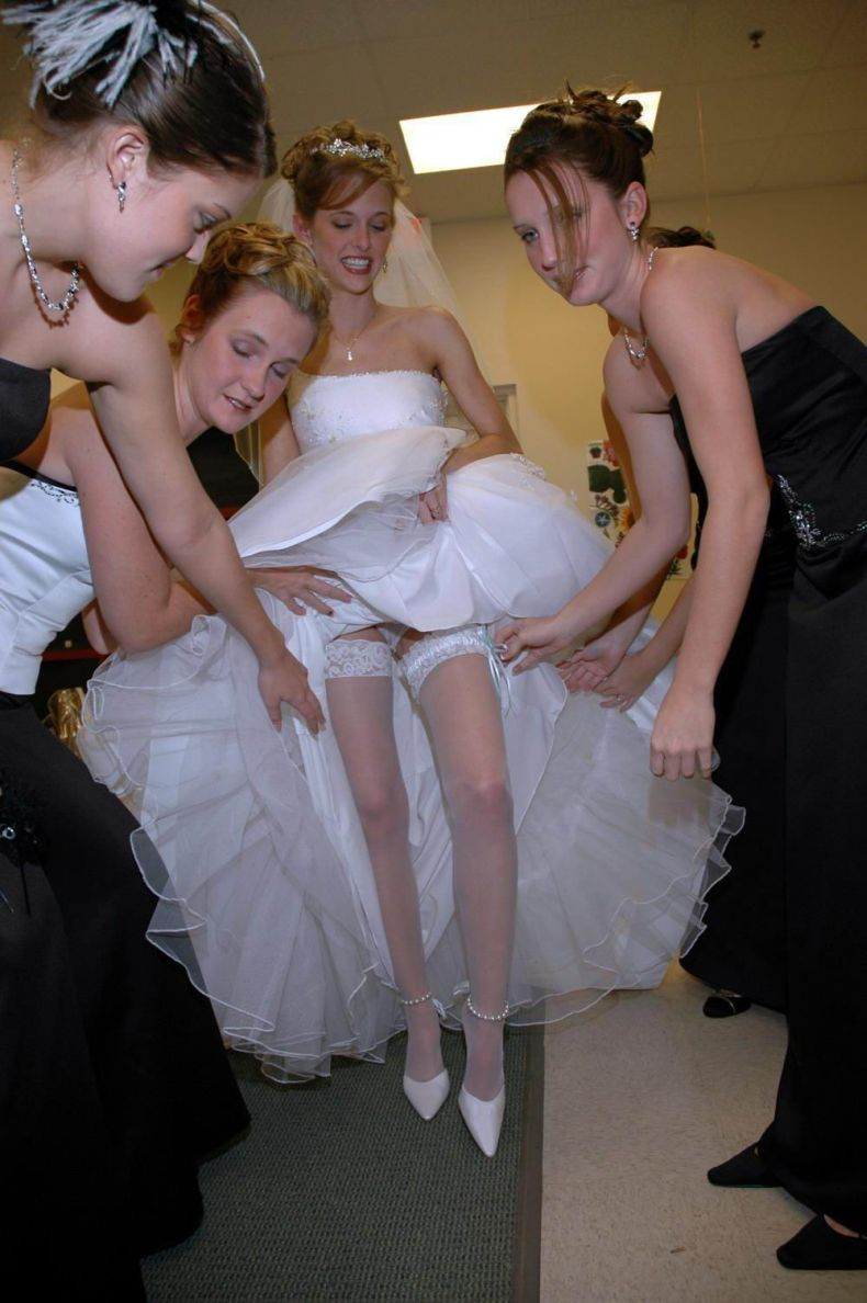 Сексуальные подружки невесты 12 фотография