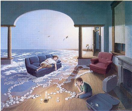 Классика. Работы великого художника Роба Гонсэлвеса (47 картинок)