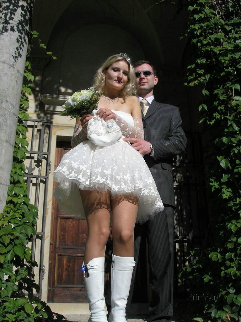Снова невесты. Ножки (42 фото)