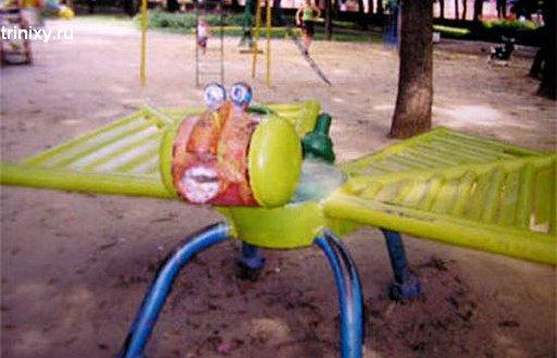 Ужасы детских дворов. Часть 3 (77 фото)