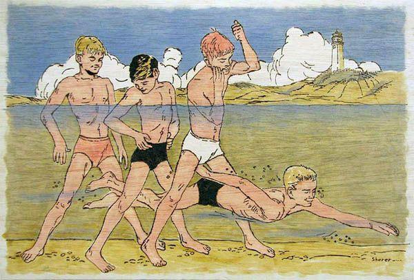 10 летние голые мальчики: