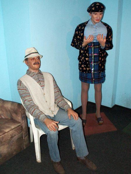 Ужас. Музей восковых фигур. Эконом-вариант (16 фото)