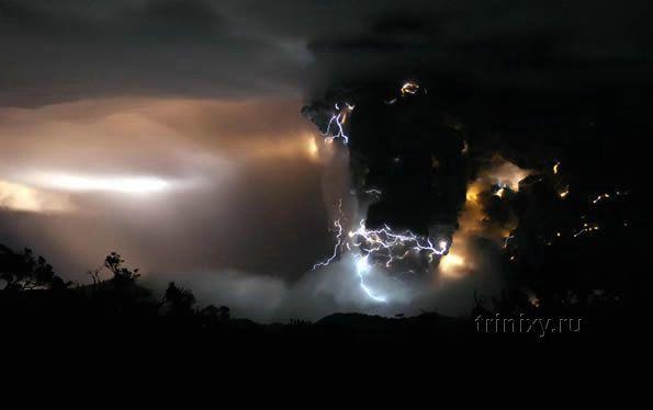 В Чили проснулся вулкан (22 фото)