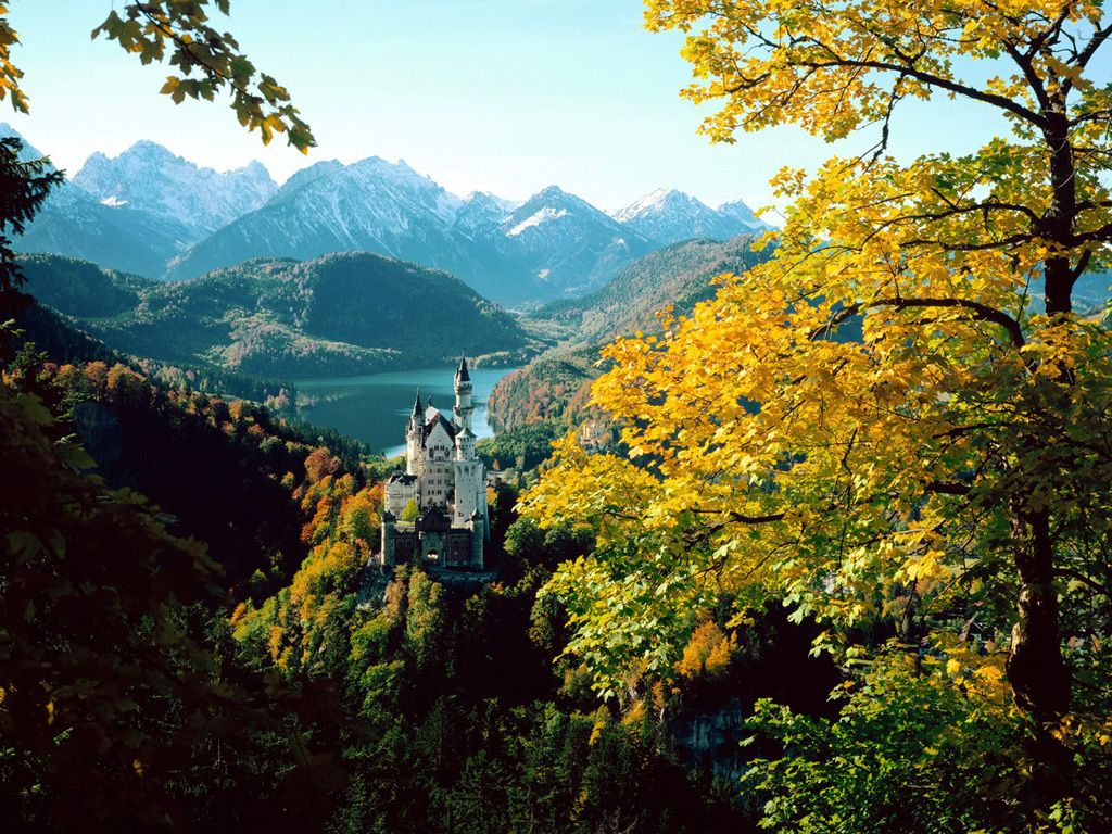 Красивые фотографии замков (73 штуки)