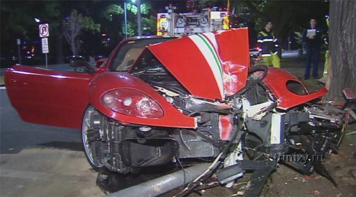 Очередная жертва скорости (4 фото)