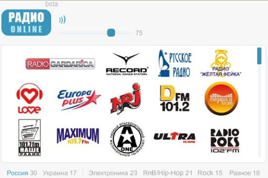 Радио online
