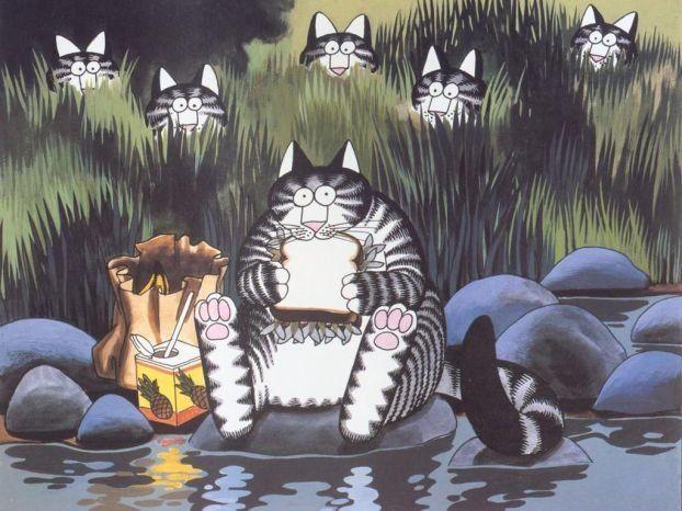 Кошачий мир (36 рисунков)