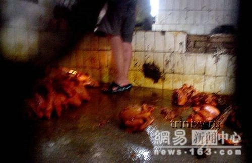 Производство копченой курятины по-китайски (14 фото)