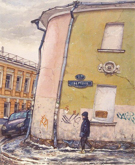 Москва, которой нет... (14 картинок)