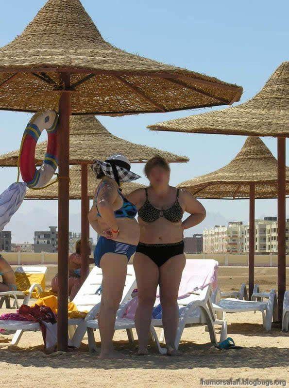 Как нельзя выглядеть на пляже (29 Фото)