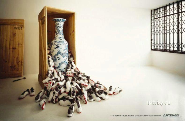 Большая подборка новой креативной рекламы (74 фото)