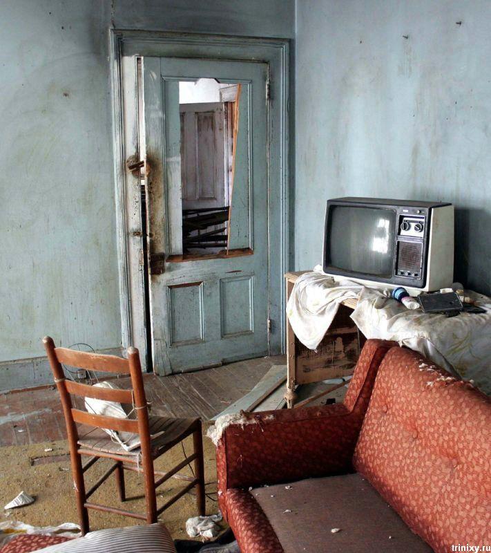 Заброшенные комнаты (24 фото)