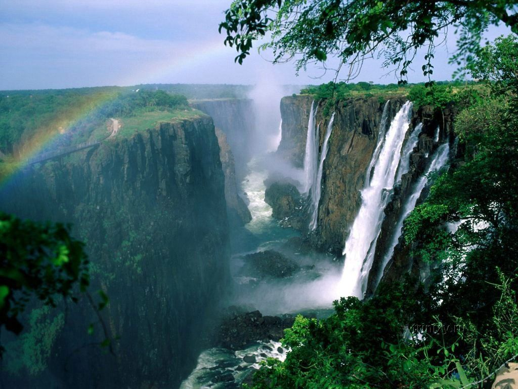 Самые красивые водопады мира 90 фото