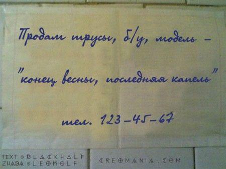 Смешные надписи (60 работ)