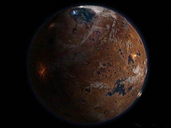Неповторимые виды поверхности Марса (14 фото)