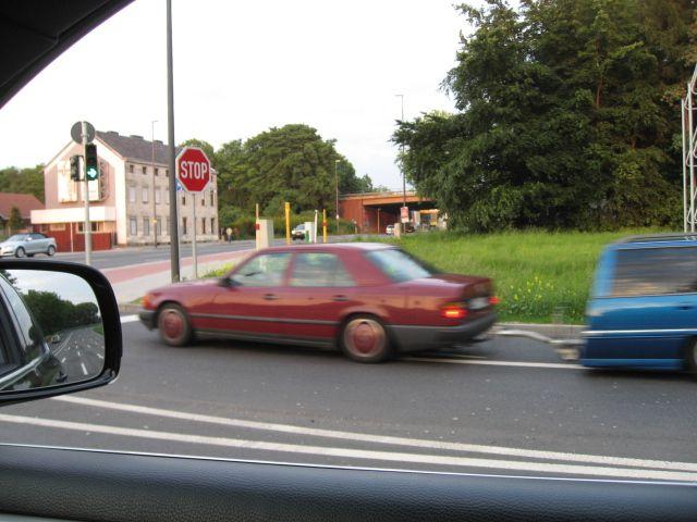Чего только не встретишь на дороге (4 фото)