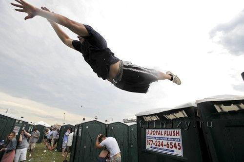 История одного прыжка (5 фото)