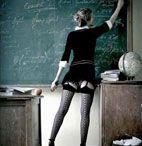 Тебе нравилась твоя первая учительница?