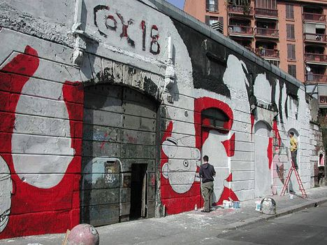 Граффити с различных улиц мира (92 фото)