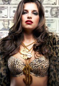 Она любит деньги!