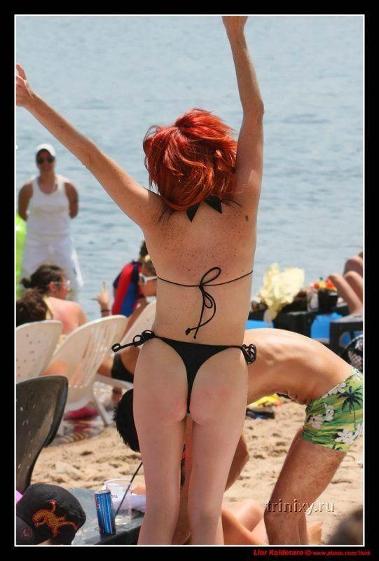 Лето. Пляж. Симаптичные девушки (65 фото) есть НЮ