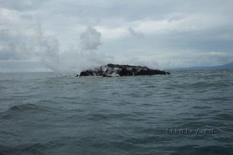 Рождение нового острова (5 фото)