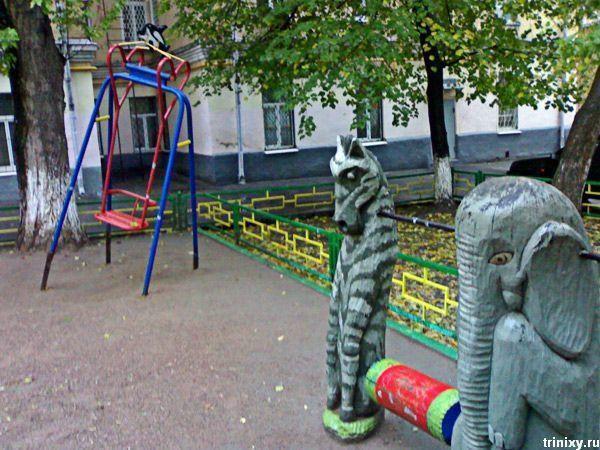 Ужасы детских дворов. Часть 4 (27 фото)