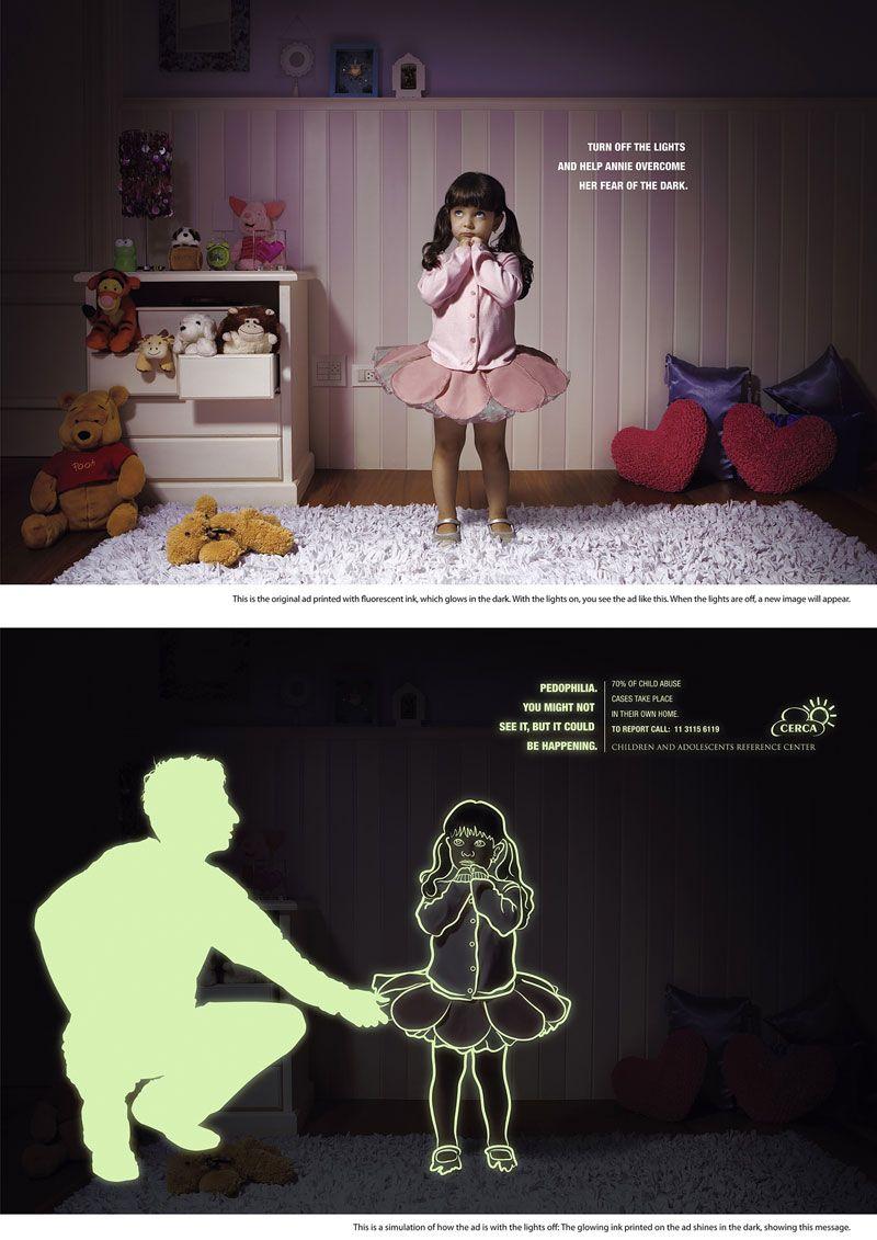 """Социалка """"Помогите детям преодолеть их страх темноты"""" (3 фото)"""