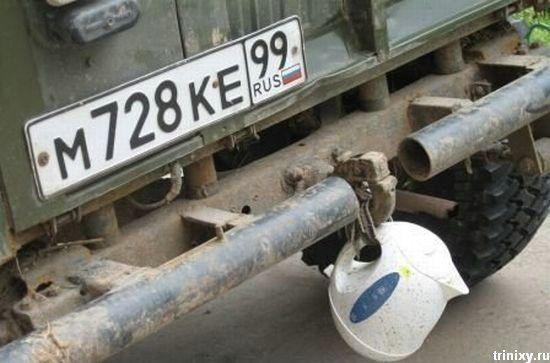 Авто приколы (34 фото)